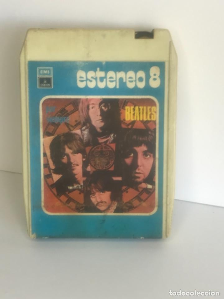 THE BEATLES POR SIEMPRE. EMI CINTA ESTEREO 8 CARTUCHO DE 8 PISTAS. 1972. (Música - Casetes)