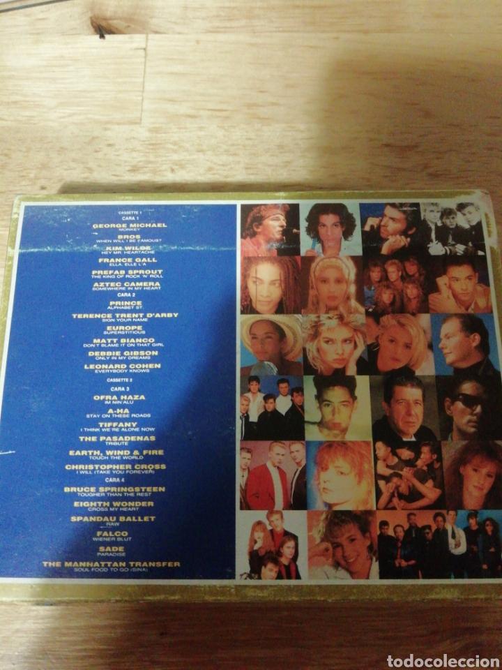 Casetes antiguos: ALL STARS THE ALBUM - CBS WEA 1988 - COMPLETO - BROS - PRINCE - EUROPE - SADE - FALCO - A-HA - COHEN - Foto 2 - 261140905