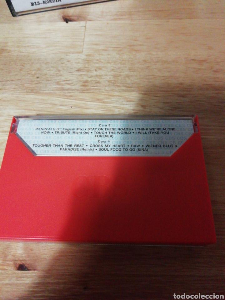 Casetes antiguos: ALL STARS THE ALBUM - CBS WEA 1988 - COMPLETO - BROS - PRINCE - EUROPE - SADE - FALCO - A-HA - COHEN - Foto 6 - 261140905