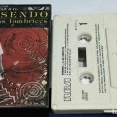 Casetes antiguos: CASETE CINTA CASSETTE ( ROSENDO - ..A LAS LOMBRICES ) 1987 RCA - PROBADA - BIEN CUIDADA. Lote 261867620