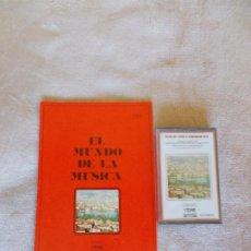 Casetes antiguos: EL MUNDO DE LA MÚSICA -CASSETTE- STRAVINSKY-PROKOFIEV-HISTORIA DE UN SOLDADO - SUITE. Lote 262061655