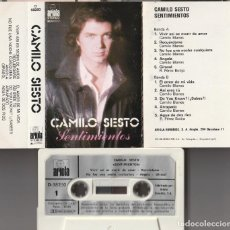 Casetes antiguos: CAMILO SESTO - SENTIMIENTOS (CASSETTE ARIOLA 1978 ESPAÑA). Lote 262078800