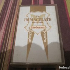 Casetes antiguos: CASETE MADONNA THE INMACULATE COLLECTION CASSETTE. Lote 262694715