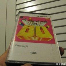 Casetes antiguos: RECORDANDO LOS 60 1968..LOS MUSTANG..MATT MONRO..SACHA DISTEL..SHIRLEY BASSEY..THE BEACH BOYS... Lote 262975555