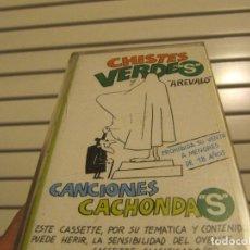 Casetes antiguos: CHISTES VERDES Y CANCIONES CACHONDAS. Lote 262977670