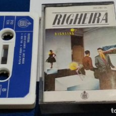 Casetes antiguos: CASETE CINTA CASSETTE ( RIGHEIRA - RIGHEIRA ) 1983 HISPAVOX - ITALO-DISCO, SYNTH-POP. Lote 263084385