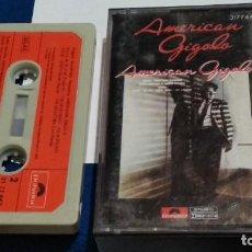 Casetes antiguos: CASETE CINTA CASSETTE BSO ( AMERICAN GIGOLO.- ORIGINAL SOUNDTRACK RECORDING ) 1980 POLYGRAM. Lote 263087770