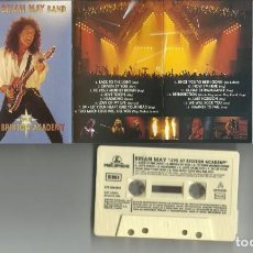 Cassettes Anciennes: BRIAN MAY LIVE AT BRIXTON ACADEMY. Lote 263673455