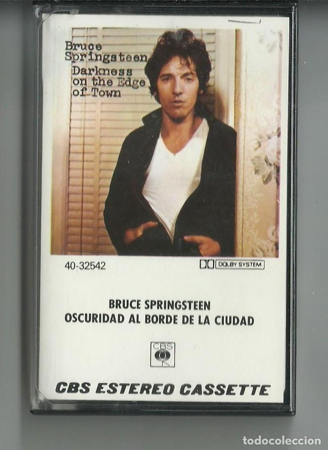 BRUCE SPRINGSTEEN OSCURIDAD (Música - Casetes)