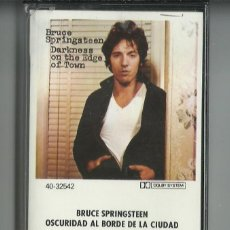 Casetes antiguos: BRUCE SPRINGSTEEN OSCURIDAD. Lote 276172468