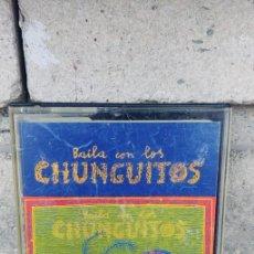 Casetes antiguos: LOS CHUNGUITOS-CASSETTE BAILA CON LOS CHUNGUITOS. Lote 263719645
