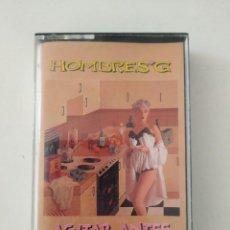 Cassetes antigas: HOMBRES G 'AGITAR ANTES DE USAR' CINTA DE CASSETTE 1988 CASETE. Lote 264676384