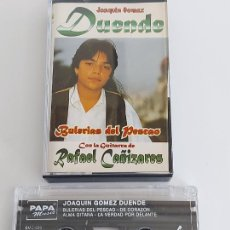 Casetes antiguos: JOAQUÍN GOMEZ DUENDE CON RAFAEL CAÑIZARES / BULERÍAS DEL PESCAO / MC - PAPA MUSIC-1996 / IMPECABLE.. Lote 266087008