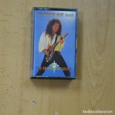Casetes antiguos: THE BRIAN MAY BAND - THE BRIXTON ACAEMY - CASSETTE. Lote 266510043