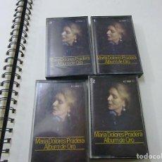 Cassetes antigas: CASETE, CASSETTE MARIA DOLORES PRADERA ALBUM DE ORO 4 CASSETTES -N. Lote 267713069
