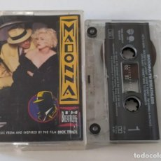 Casetes antiguos: CINTA CASSETTE MADONNA - I´M BREATLESS - B.S.O. DICK TRACY. Lote 101114531