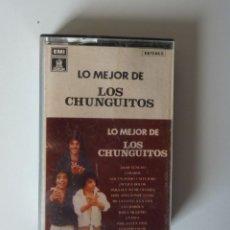 Casetes antiguos: LOS CHUNGUITOS // LO MEJOR DE LOS CHUNGUITOS // 1980 // CASETE. Lote 267890069