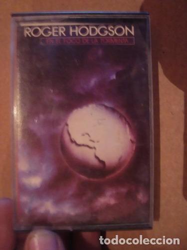 CASET ORIGINAL ROGER HODGSON EN EL FOCO DE LA TORMENTA ROCK (Música - Casetes)