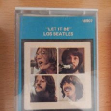 Casetes antiguos: THE BEATLES LET IT BE. Lote 269436973