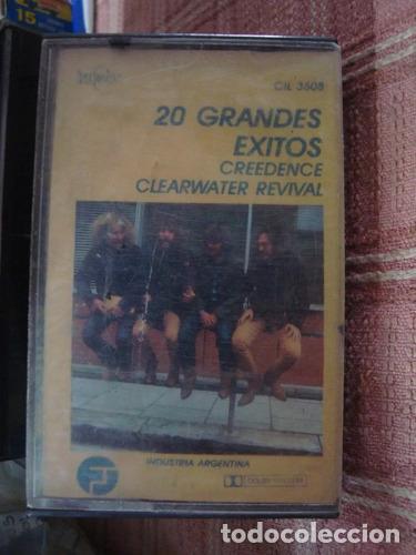 CASET ORIG ROCK CREEDENCE CLEARWATER REVIVAL 20 GDES EXITOS (Música - Casetes)