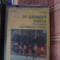 Casetes antiguos: CASET ORIG ROCK CREEDENCE CLEARWATER REVIVAL 20 GDES EXITOS. Lote 269437228