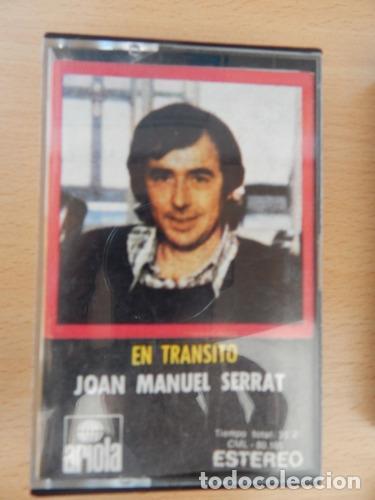 JOAN MANUEL SERRAT EN TRANSITO (Música - Casetes)