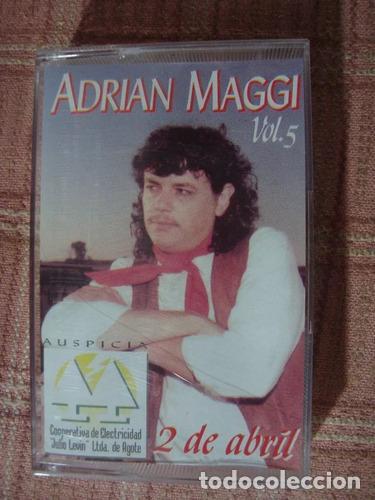 CASET ADRIAN MAGGI FIRMADO VOL 5 DOS DE ABRIL MALVINAS (Música - Casetes)