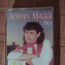 Casetes antiguos: CASET ADRIAN MAGGI FIRMADO VOL 5 DOS DE ABRIL MALVINAS. Lote 269437278