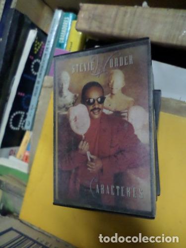 STEVIE WONDER CARACTERES CASSETTE (Música - Casetes)