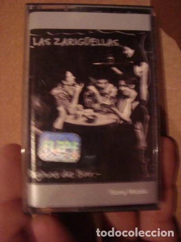 CASET ORIGINAL LAS ZARIGUELLAS PAGINAS DE BAR (Música - Casetes)