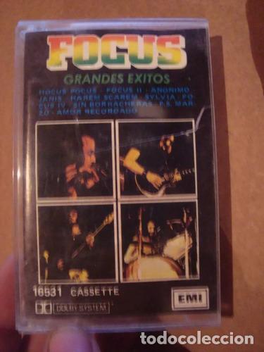 CASET ORIGINAL DE FOCUS GRANDES EXITOS MUSICA ROCK METAL (Música - Casetes)