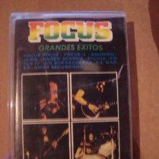 Casetes antiguos: CASET ORIGINAL DE FOCUS GRANDES EXITOS MUSICA ROCK METAL. Lote 269437538