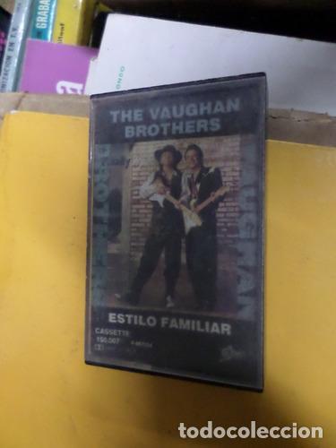 THE VAUGHAN BROTHERS ESTILO FAMILIAR CASSETTE (Música - Casetes)