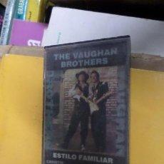Casetes antiguos: THE VAUGHAN BROTHERS ESTILO FAMILIAR CASSETTE. Lote 269437613