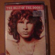 Casetes antiguos: CASET ORIGINAL DE THE BEST OF THE DOORS ROCK METAL. Lote 269437758
