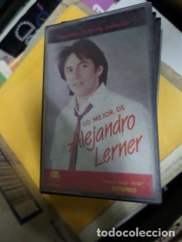ALEJANDRO LERNER LO MEJOR CASSETTE (Música - Casetes)
