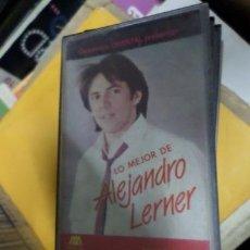 Casetes antiguos: ALEJANDRO LERNER LO MEJOR CASSETTE. Lote 269437798