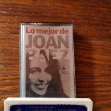 Casetes antiguos: LO MEJOR DE JOAN BAEZ. Lote 269453913