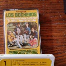 Casetes antiguos: LOS BOCHEROS. Lote 269454038