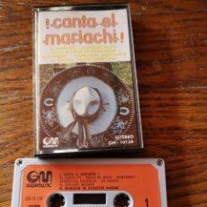 Casetes antiguos: CANTA EL MARIACHI. Lote 269454308