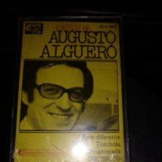 Casetes antiguos: AUGUSTO ALGUERO. Lote 269984453