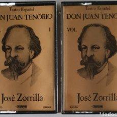 Casetes antiguos: AUDIOLIBRO. CASETES TEATRO ESPAÑOL. DON JUAN TENORIO. Lote 270966033