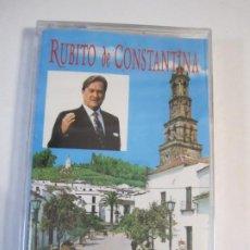 Casetes antiguos: CASETE RUBITO DE CONSTANTINA PINCELADAS FLAMENCAS NUEVO PRECINTADO. Lote 272444003