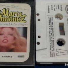 Cassetes antigas: CASETE CINTA CASSETTE ( MARIA JIMENEZ - RESURRECCIÓN DE LA ALEGRIA ) 1979 MOVIEPLAY. Lote 273265508