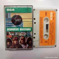 Casetes antiguos: CASSETTE SWEET DESOLATION BOULEVARD 1974 RCA RECORDS EDICION ESPAÑOLA - GLAM ROCK - CINTA RARA. Lote 273663653