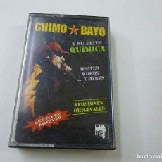 Cassetes antigas: CHIMO BAYO -CASETE -N. Lote 273921713