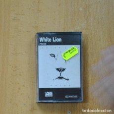 Cassette antiche: WHITE LION - PRIDE - CASSETTE. Lote 275663118