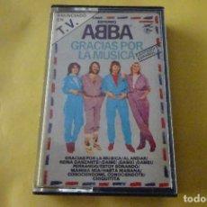 Cassettes Anciennes: CASSETTE MÚSICA - ABBA - GRACIAS POR LA MÚSICA. Lote 277010693