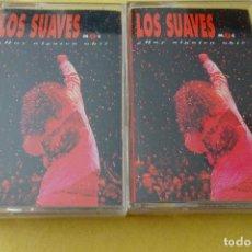 Cassettes Anciennes: CASSETTE MÚSICA - LOS SUAVES - ¿HAY ALGUIEN AHÍ? ¡DOBLE CASSETTE!. Lote 277011013