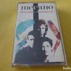Cassettes Anciennes: CASSETTE MÚSICA - MECANO - DESCANSO DOMINICAL. Lote 277012113